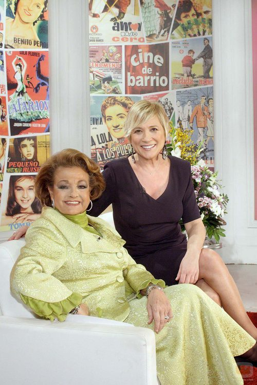 Carmen Sevilla e Inés Ballester