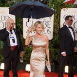 Julie Benz en los Globos de Oro 2010
