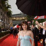 Elizabeth Moss en los Globos de Oro 2010
