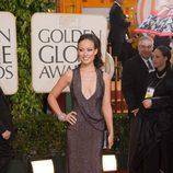 Olivia Wilde en los Globos de Oro 2010