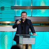 Ricky Gervais en los Globos de Oro 2010