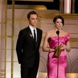 Jim Parsons y Lauren Graham