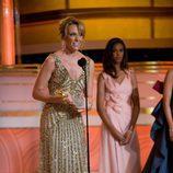 Toni Collette en los Globos de Oro 2010