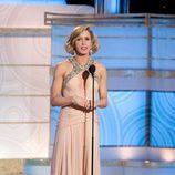 Felicity Huffman en los Globos de Oro 2010