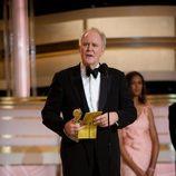 John Lithgow en los Globos de Oro 2010