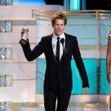Kevin Bacon en los Globos de Oro 2010
