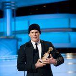 Michael C. Hall ('Dexter') en los Globos de Oro 2010