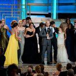 'Glee' en los Globos de Oro 2010