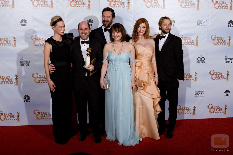 'Mad Men' en los Globos de Oro 2010