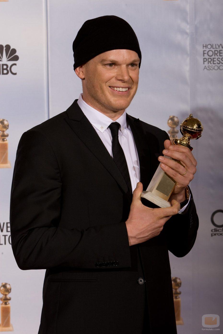 Michael C. Hall en los Globos de Oro 2010