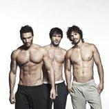 Los torsos desnudos de los chicos de 'Valientes'