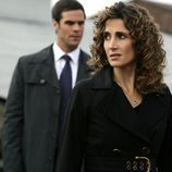 Melina Kanakaredes y Eddie Cahill en 'CSI: NY'