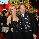 Felicity Huffman y su marido