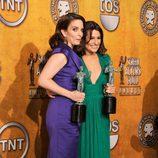 Tina Fey y Lea Michelle