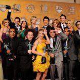 Reparto de 'Glee' en los Screen Actors Guild Awards
