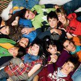 El grupo de jóvenes actores de 'Física o Química'