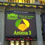 Antena 3 cotiza en Bolsa, año 2003