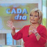 María Teresa Campos en 'Cada día'