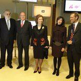 Don Juan Carlos y Doña Sofía en Antena 3