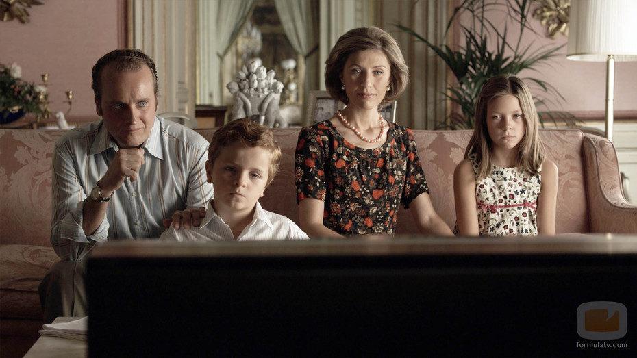 La Familia Real en 'Adolfo Suárez, el presidente'