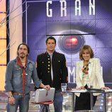 Iván Madrazo le da el maletín a Ángel en 'GH 11'