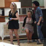 Saray, Ángel y Pilarita en la final de 'GH 11'
