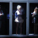Ángel, Saray y Pilarita en la final de 'GH 11'
