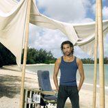 Sayid Jarrah en la promo de 'Perdidos'