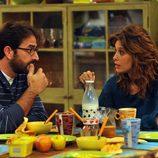 Angie Cepeda y Antonio Garrido en 'El robo'