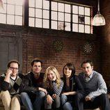 Brittany Robertson, Shiri Appleby, Kristoffer Polaha, Kerr Smith y Austin Basis