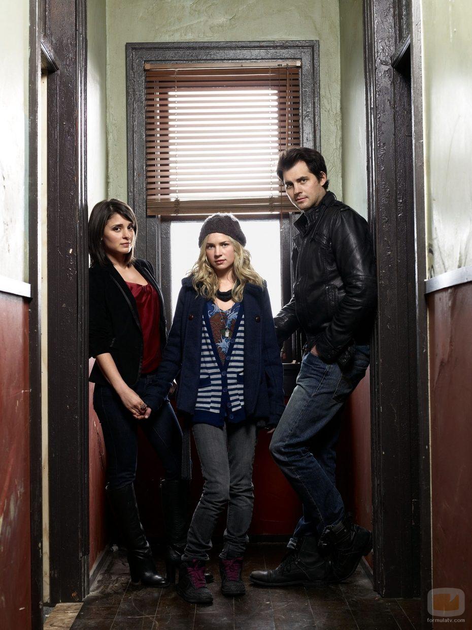 Lux, Catie Cassidy y Nate 'Baze'