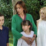 Clara y Ana y Elisa y Raúl, de 'Hay alguien ahí'