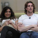 Piero y Melania en 'GH: El reencuentro'