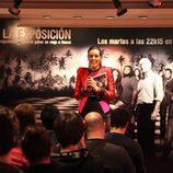 """Raquel Sánchez Silva en la presentación de """"Perdidos: La exposición"""""""