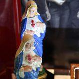 Imágenes de la Virgen encontradas en el avión de 'Lost'