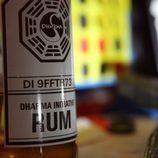 Botella de ron Dharma de Juliet