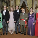Chichina, Marqués de Villaverde, Carmen M. Bordiú, Alfonso de Borbón, Franco, Carmen Polo y Emmanuela Dampierre