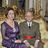 Franco y Carmen Polo