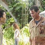 Matthew Fox y Daniel Dae Kim en 'Lost'