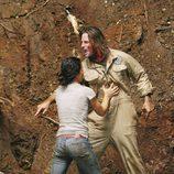 Sawyer le grita a Jack