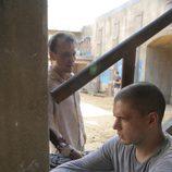 Michael Scofield y T-Bag en 'Orientación'