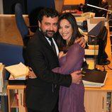 Paco Tous y Cristina Plazas