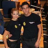 Patricia Montero junto a Mario Casas