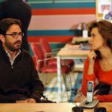 Antonio Garrido y Angie Cepeda en 'El mutante'