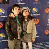 Los actores Daniel Avilés y Priscila Delgado