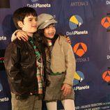Daniel Avilés (Carlos) y Priscila Delgado (Lucía)