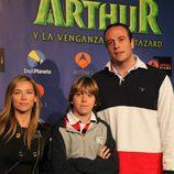 Fran Murcia y su hijo