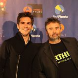 Marc Clotet y el director Luc Besson