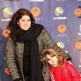 Lucía Etxebarria y su hija