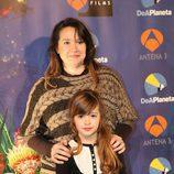 Carmen Sánchez junto a su madre